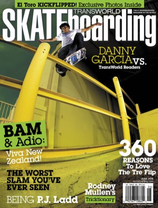 covers - Transworld, June 2006