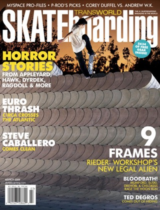 covers - Transworld, March 2006
