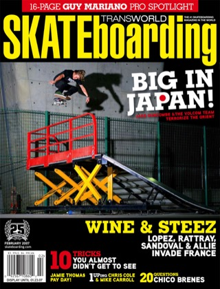 covers - Transworld, February 2007
