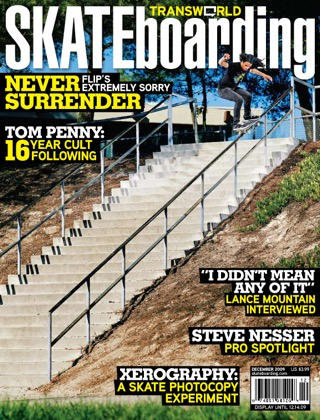 covers - Transworld, December 2009
