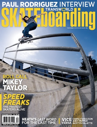 covers - Transworld, December 2010