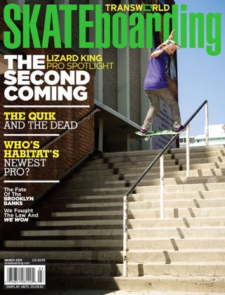 covers - Transworld, March 2010
