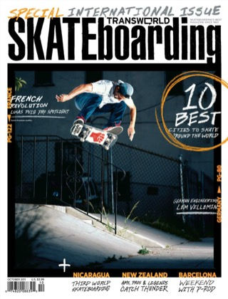 covers - Transworld, October 2011