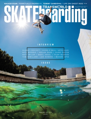 covers - Transworld, April 2013