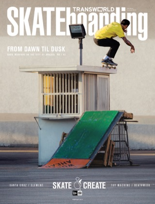 covers - Transworld, February 2013