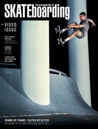 covers - Transworld, January 2013