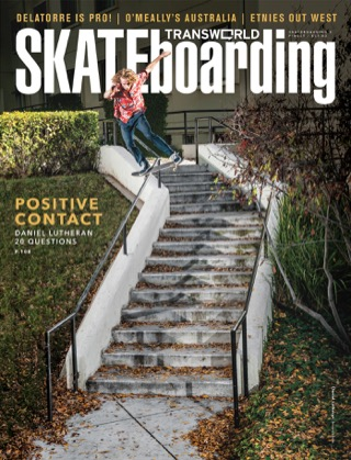 covers - Transworld, July 2013