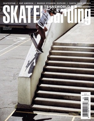 covers - Transworld, October 2014