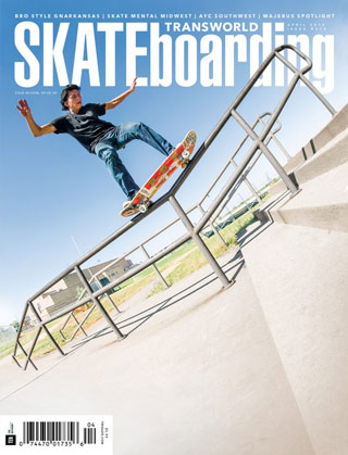 covers - Transworld, April 2016