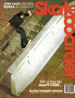 covers - Skateboarder, January/February 2000
