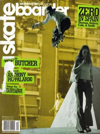 covers - Skateboarder, December 2002