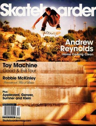 covers - Skateboarder, December 2004