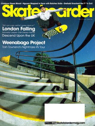 covers - Skateboarder, February 2005