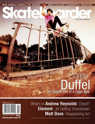 covers - Skateboarder, February 2006