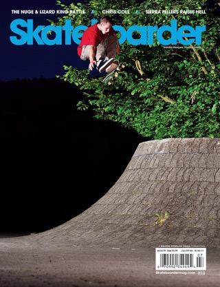 covers - Skateboarder, July 2009