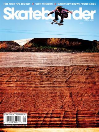 covers - Skateboarder, September 2009