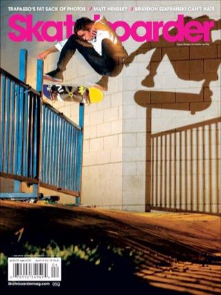 covers - Skateboarder, April 2010