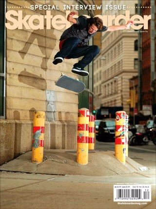 covers - Skateboarder, December 2010