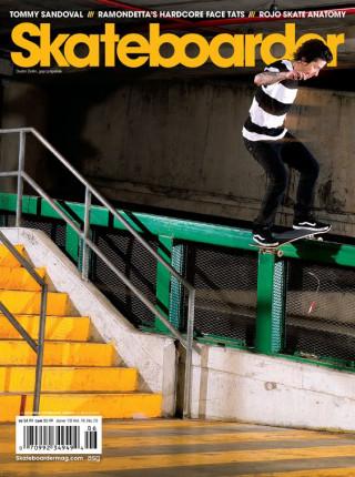 covers - Skateboarder, June 2010
