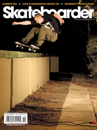 covers - Skateboarder, October 2010