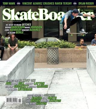 covers - Skateboarder, October/November 2011