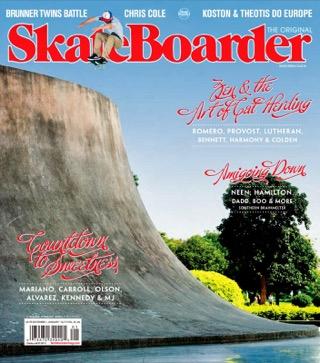 covers - Skateboarder, December/January 2012