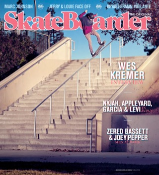 covers - Skateboarder, February/March 2013