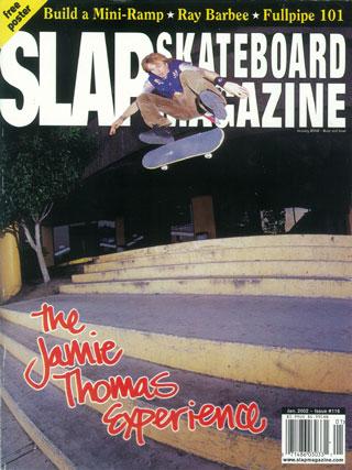 covers - Slap, January 2002