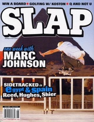 covers - Slap, June 2004