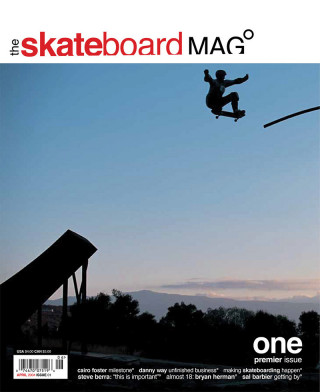 covers - The Skateboard Mag, April 2004