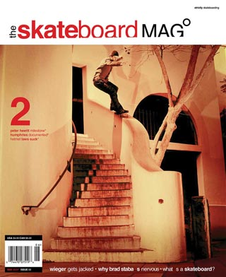 covers - The Skateboard Mag, May 2004