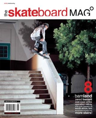 covers - The Skateboard Mag, November 2004