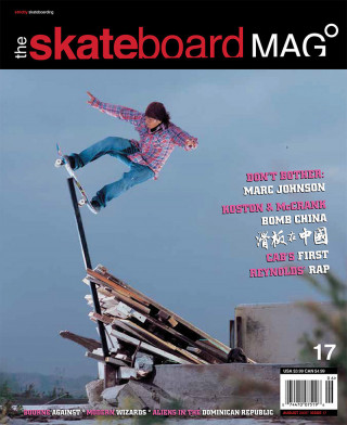 covers - The Skateboard Mag, August 2005