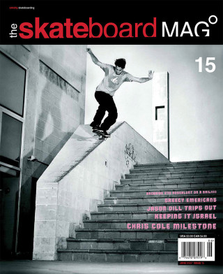 covers - The Skateboard Mag, June 2005