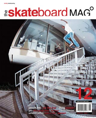 covers - The Skateboard Mag, March 2005