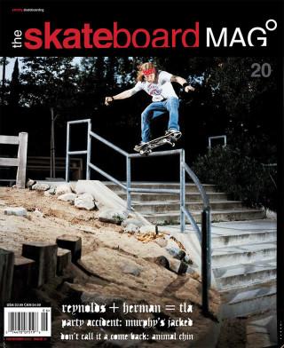 covers - The Skateboard Mag, November 2005
