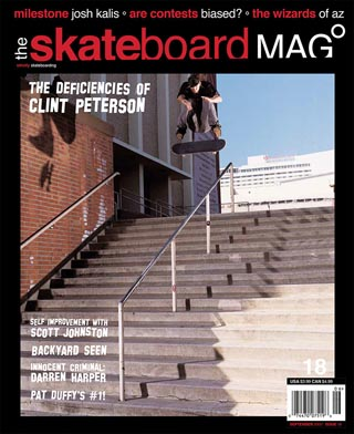 covers - The Skateboard Mag, September 2005