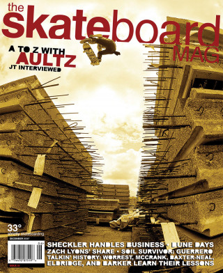 covers - The Skateboard Mag, December 2006