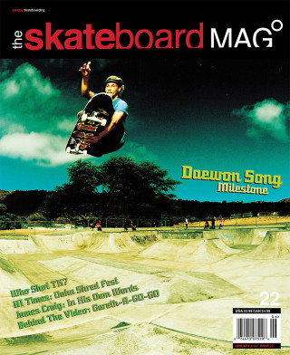 covers - The Skateboard Mag, January 2006