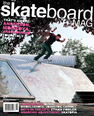 covers - The Skateboard Mag, June 2006