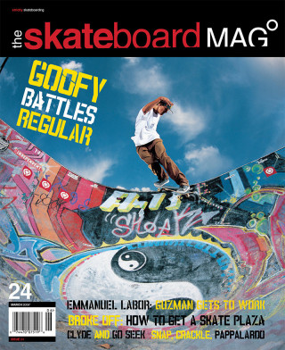 covers - The Skateboard Mag, March 2006
