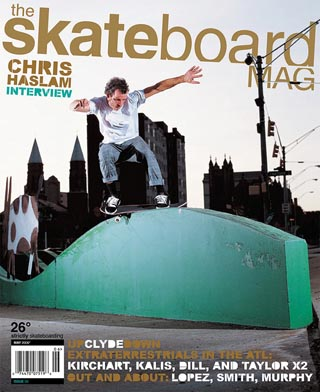 covers - The Skateboard Mag, May 2006