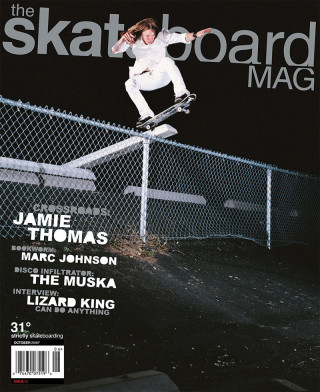 covers - The Skateboard Mag, October 2006