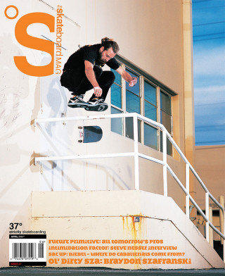covers - The Skateboard Mag, April 2007