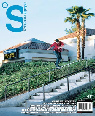 covers - The Skateboard Mag, August 2007