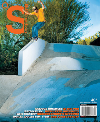 covers - The Skateboard Mag, July 2007