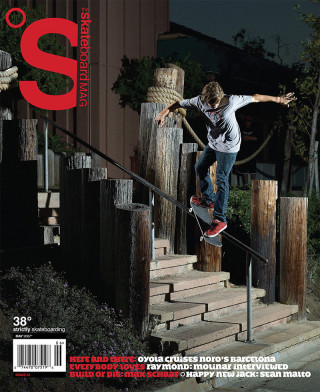 covers - The Skateboard Mag, May 2007