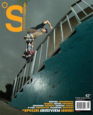 covers - The Skateboard Mag, September 2007