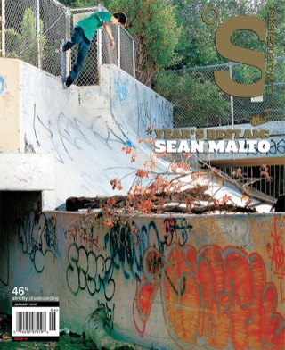 covers - The Skateboard Mag, January 2008