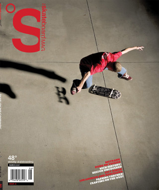 covers - The Skateboard Mag, March 2008